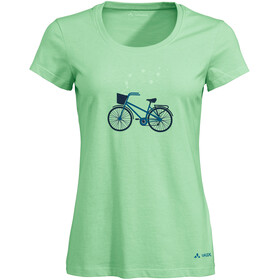 VAUDE Cyclist V T-Shirt Femme, may green